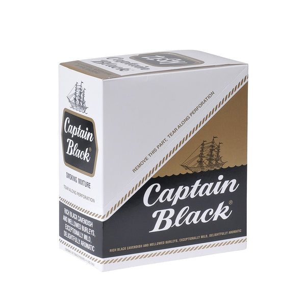 Captain Black Regular Pipe Tobacco 6 Pouches of 1.5 oz.
