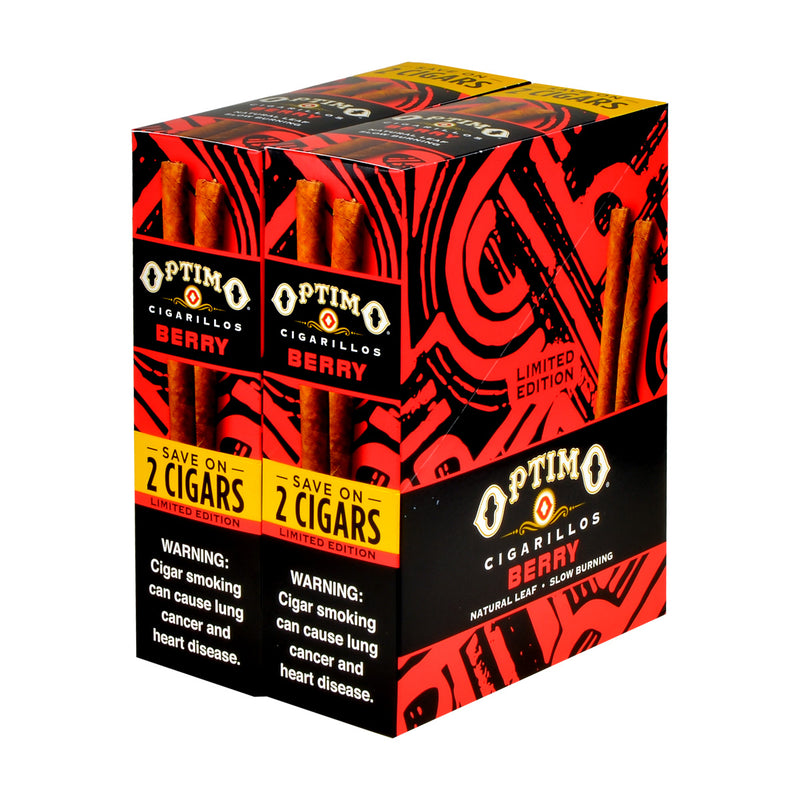 Optimo Save On 2 Cigarillos 30 Pouches of 2 Berry