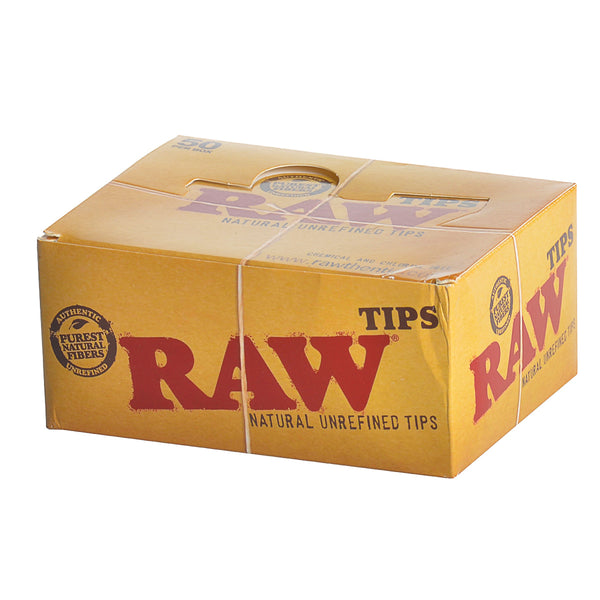 RAW Filter Tips 50 Packs of 50