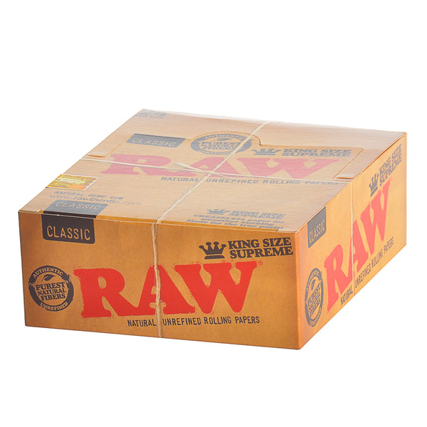 RAW Papers King Size Supreme Pack of 24