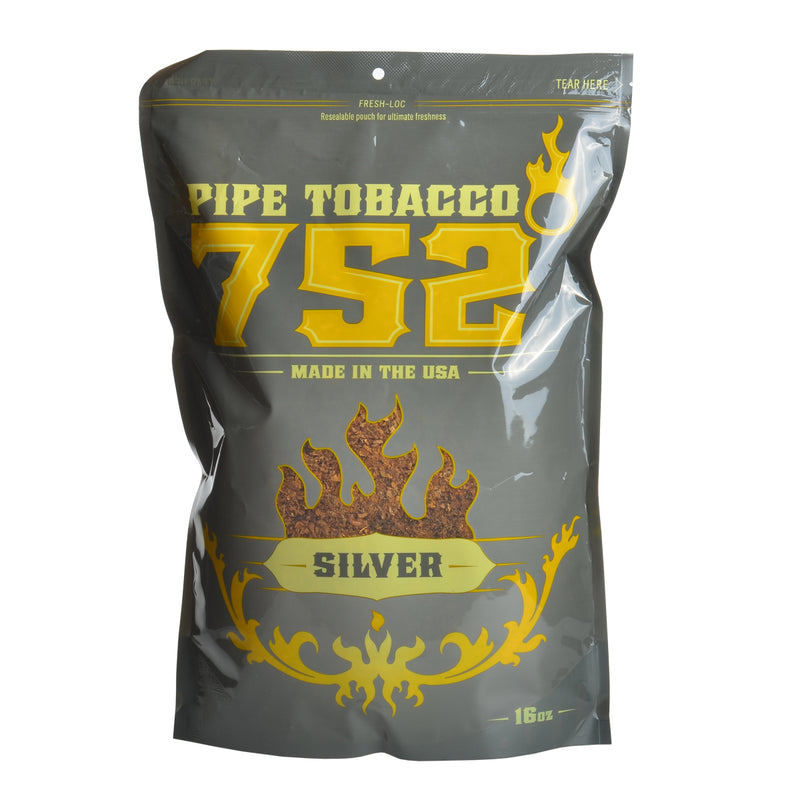 752 Silver Pipe Tobacco 16 oz. Bag