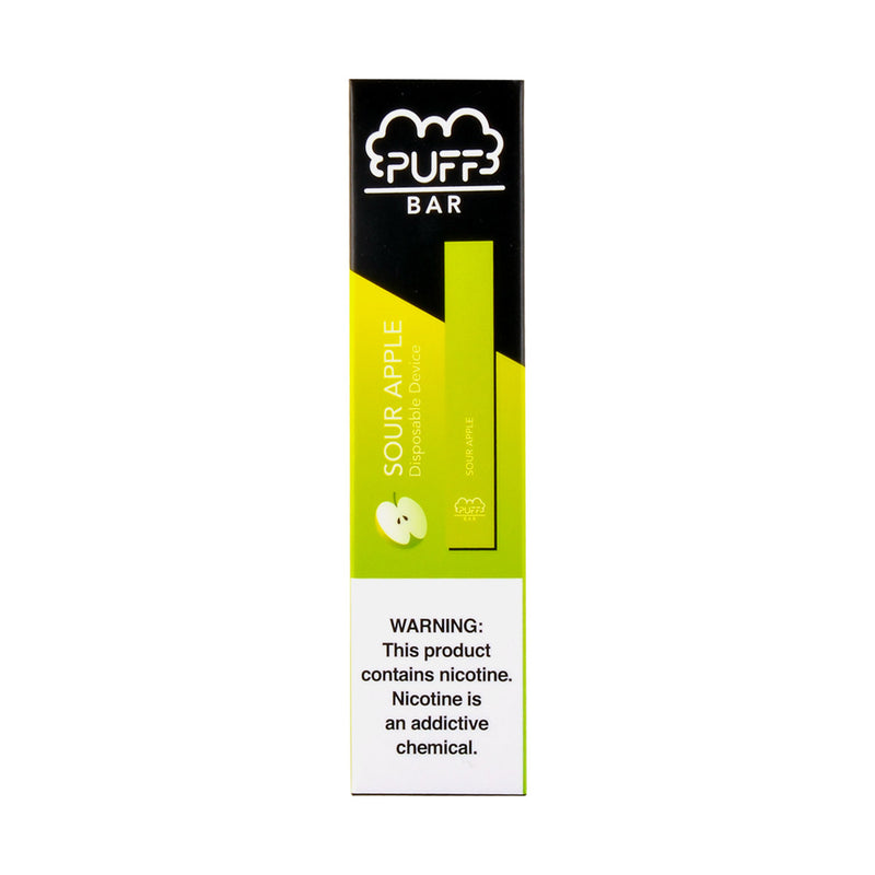 Puff Disposable 1.3ml Pod Device 5% Sour Apple