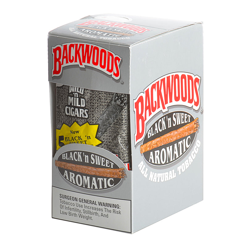 Backwoods Black & Sweet Aromatic Cigars 8 Packs of 5