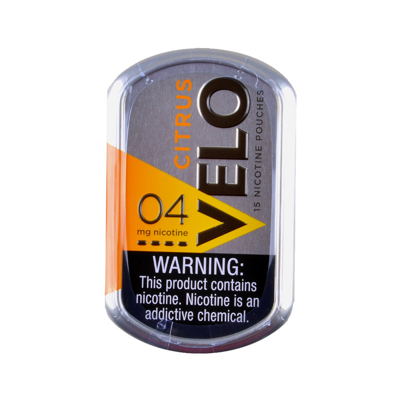 Velo Nicotine Pouches 4mg Pack of 15 Citrus