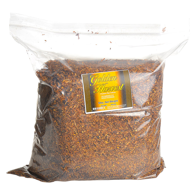 Golden Harvest Natural Blend Pipe Tobacco 5 Lb. Bag