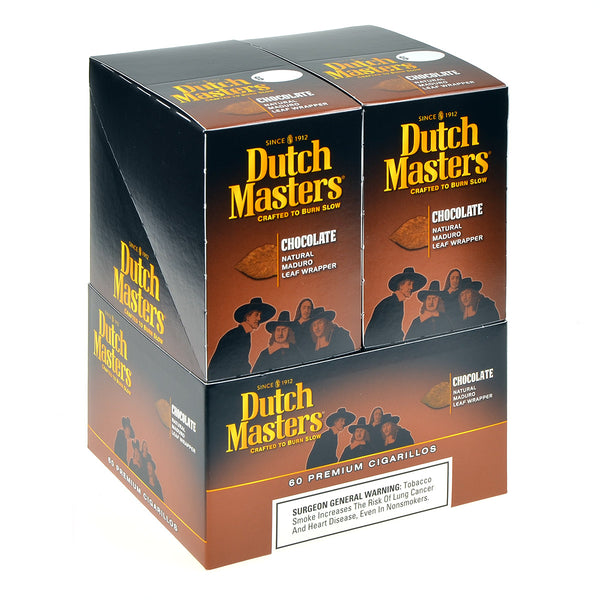 Dutch Masters Cigarillos Chocolate 20 Pouches of 3
