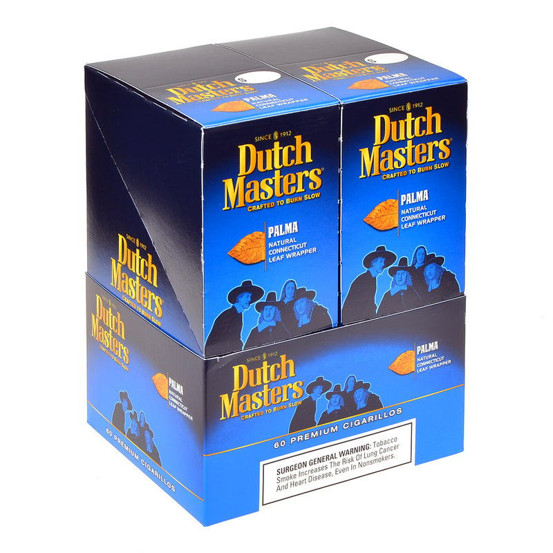 Dutch Masters Cigarillos Palma 20 Pouches of 3