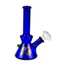 6 Inch Glass Decal Work Water Pipe LSBK109