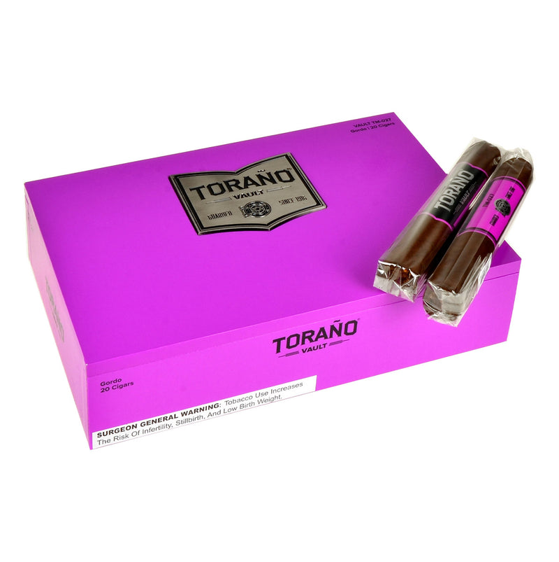 Torano Vault Gordo Purple Cigars Box of 20
