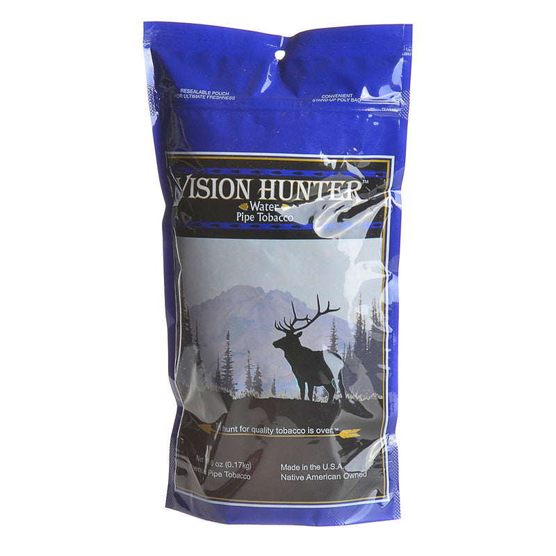 Vision Hunter Water (Mild) Pipe Tobacco 6 oz. Bag