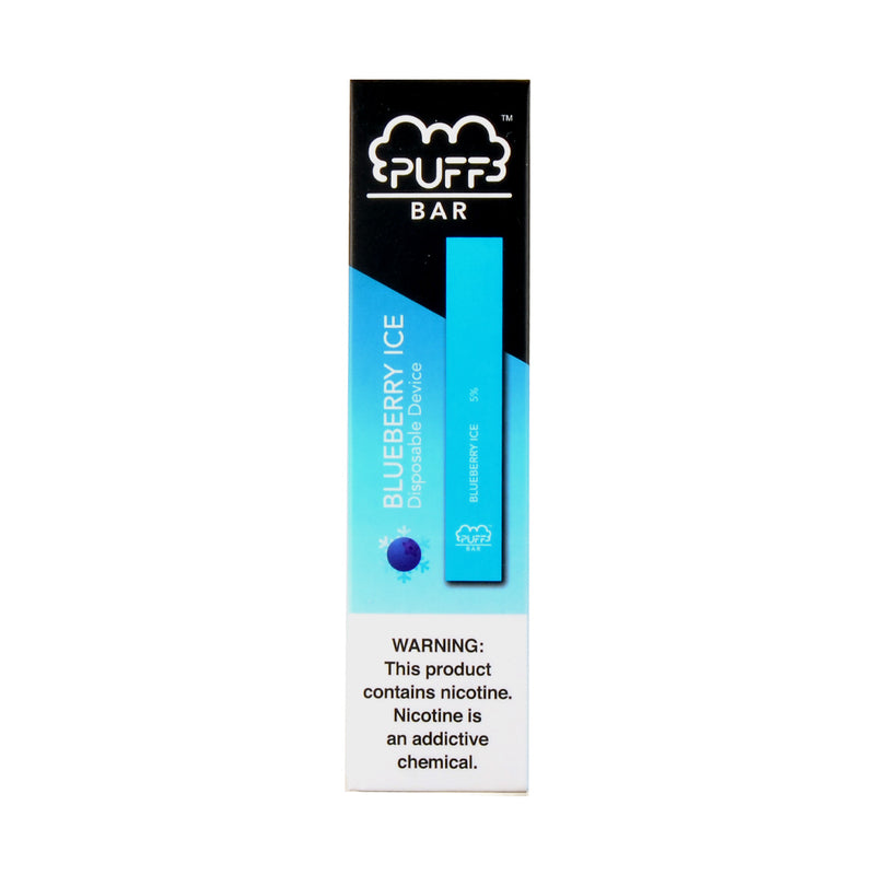 Puff Disposable 1.3ml Pod Device 5% Blueberry Ice