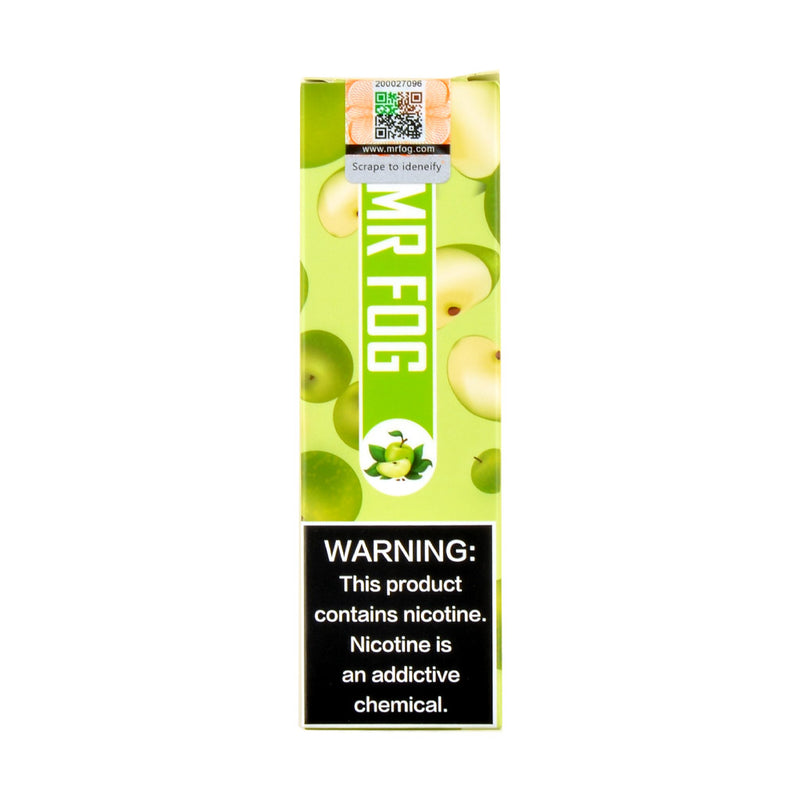 Mr. Fog Disposable Pod Device 1.5ml Pod Device 6% Sour Apple