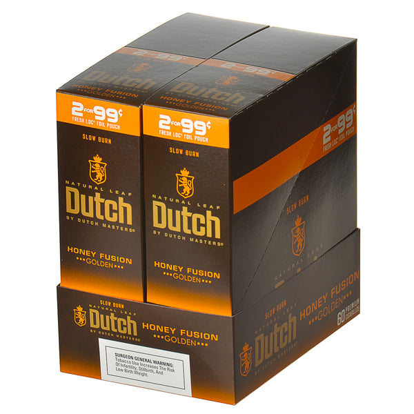 Dutch Masters Foil Fresh Honey Fusion 99 Cent Cigarillos 30 Packs of 2