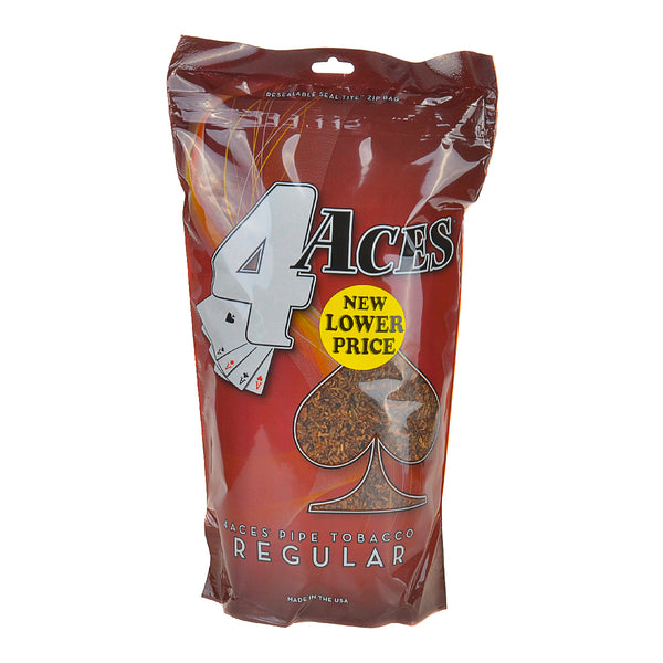 4 Aces Regular Pipe Tobacco 16 oz. Bag