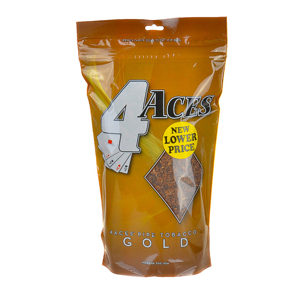 4 Aces Gold Pipe Tobacco 16 oz. Bag