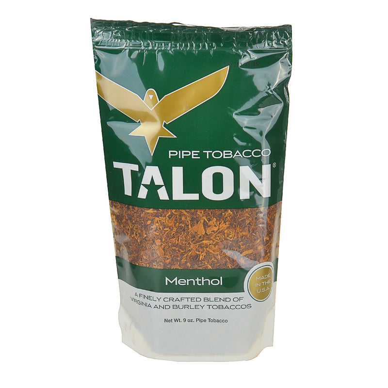 Talon Menthol Pipe Tobacco 9 oz. Bag