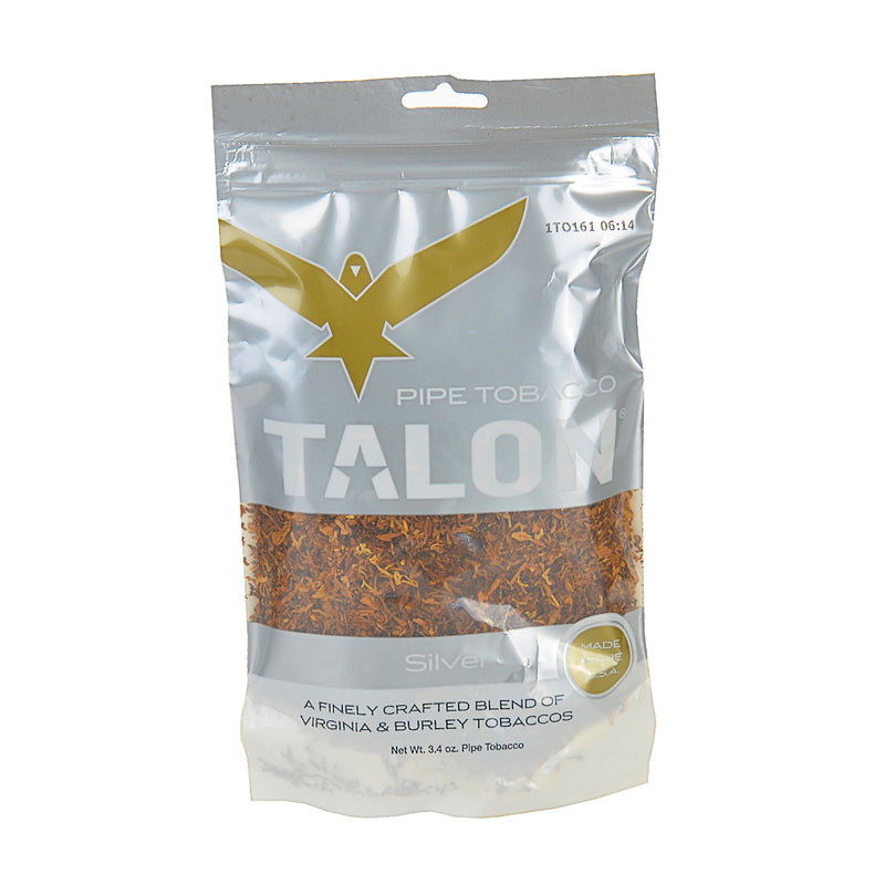 Talon Silver Pipe Tobacco 3.4 oz. Bag