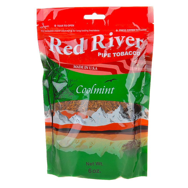 Red River Cool Mint Pipe Tobacco 6 oz. Bag