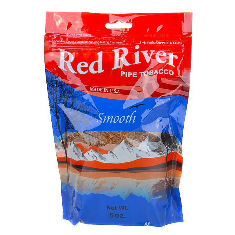 Red River Smooth Pipe Tobacco 6 oz. Bag