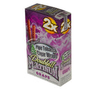 Double Platinum Grape Wraps 25 Pouches of 2