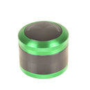 Grinder 63mm 4-part Chrom Double Color LSDCC