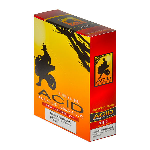 Acid Red Cigarillos 15 Pouches of 3