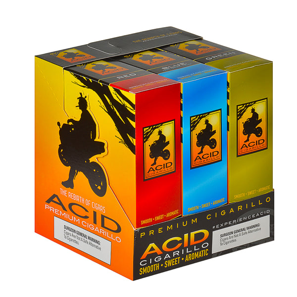 Acid Cigarillos Assorted Display Pack of 30