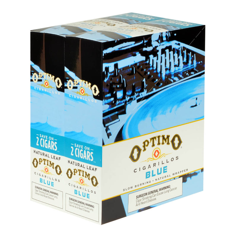 Optimo Save On 2 Cigarillos 30 Pouches of 2 Blue