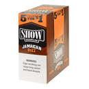 Show Cigarillos Jamaican Buzz (Kush) Pre Priced 15 Pouches of 5