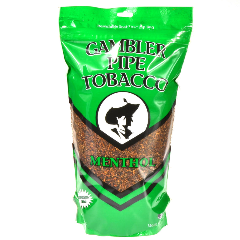 Gambler Pipe Tobacco Menthol (Mint) 16 oz. Bag