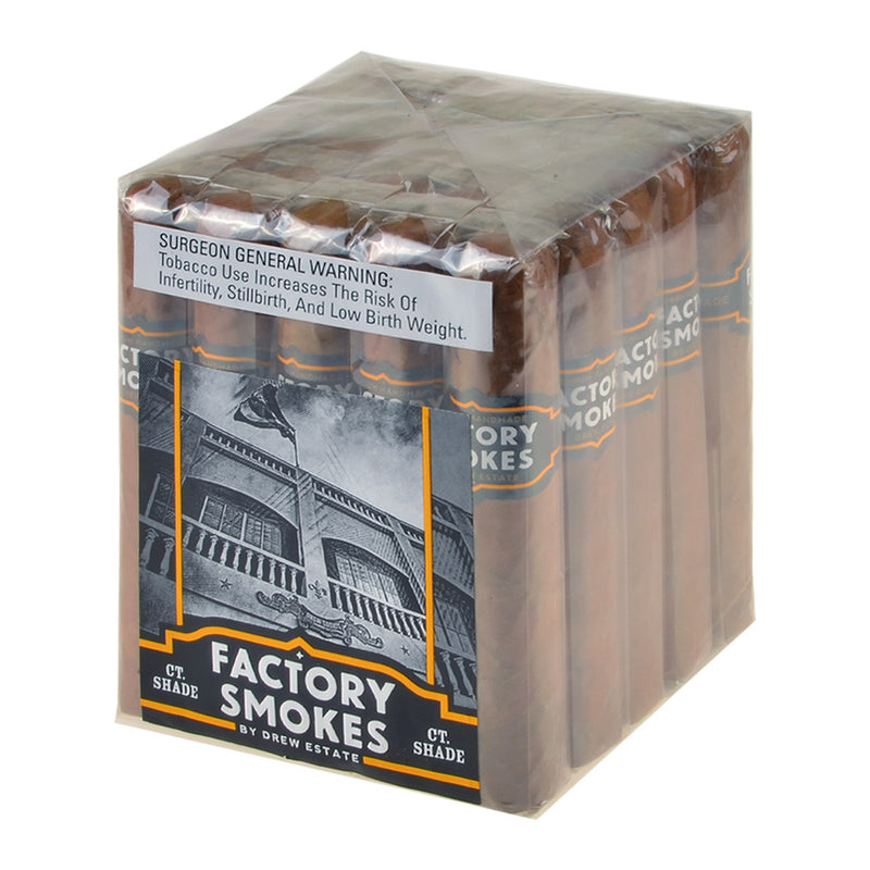 Factory Smokes Shade Robusto Cigars Bundle of 25