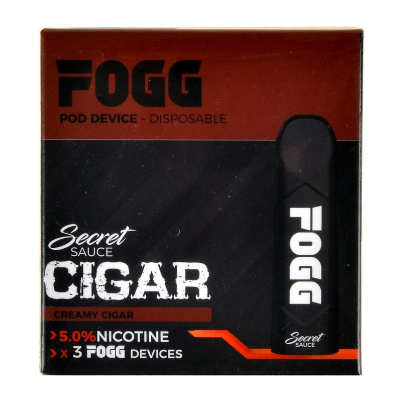 FOGG Disposable Pod Device Pack of 3 Creamy Cigar