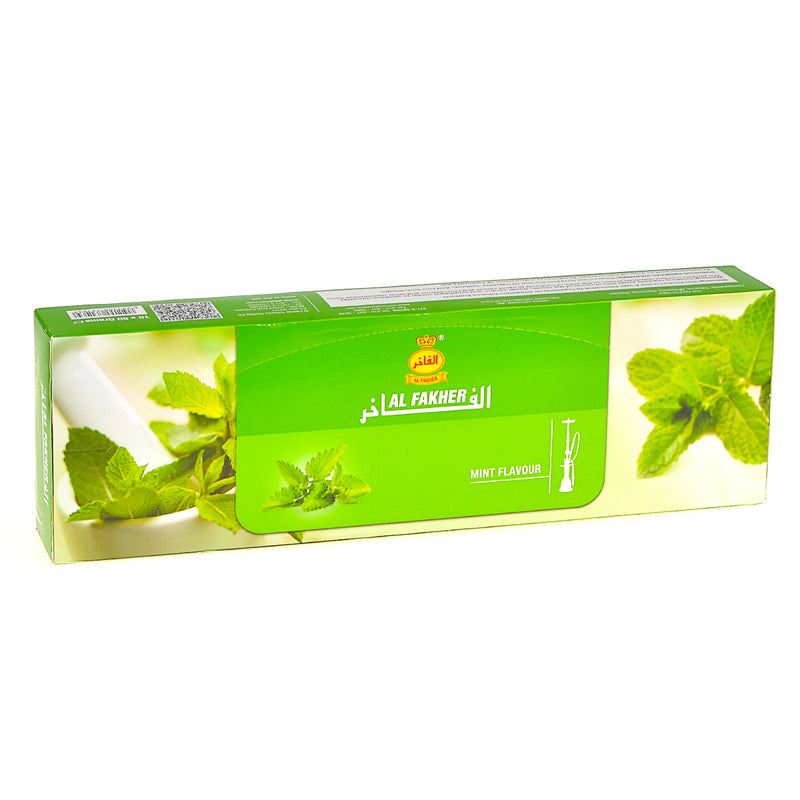 Al Fakher Mint Hookah Shisha 10 Packs of 50g