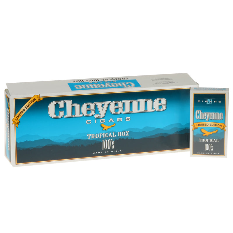 Cheyenne Tropical Filtered Cigars 10 Packs of 20