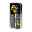 Brass Knuckles Empty Cartridge 1.0 ML Gold