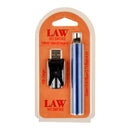Law Battery with Charger 110mAh Blue