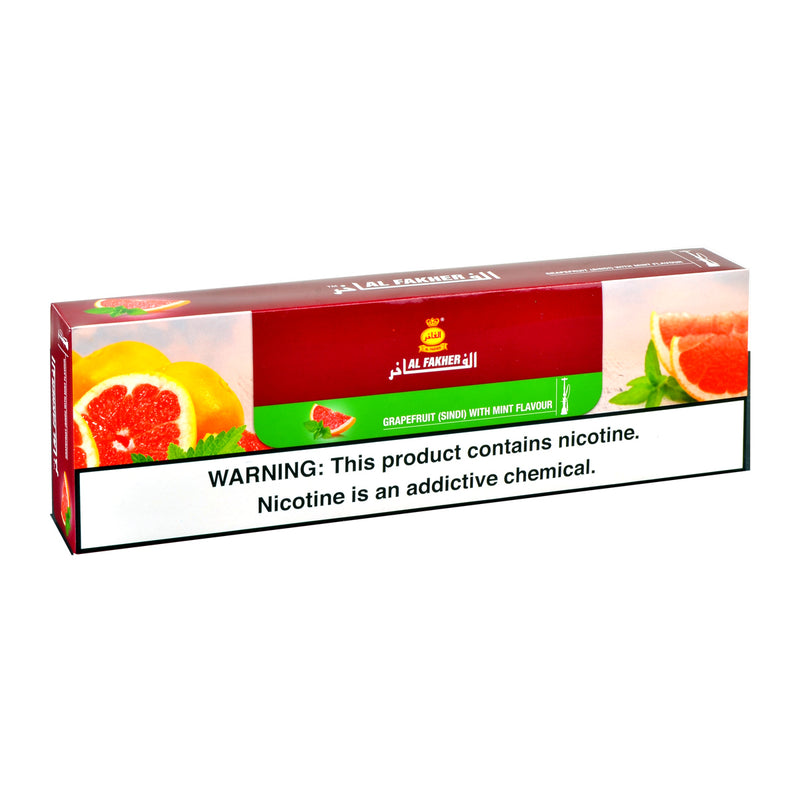 Al Fakher Grapefruit With Mint Hookah Shisha 10 Packs of 50g