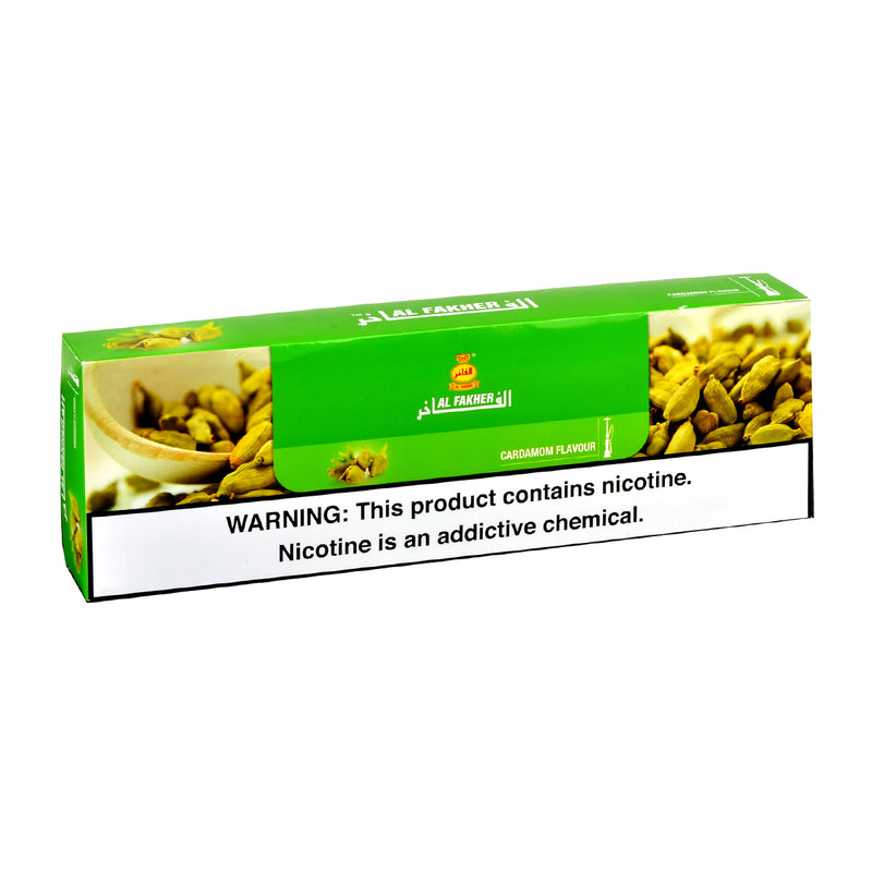 Al Fakher Cardamom Hookah Shisha 10 Packs of 50g