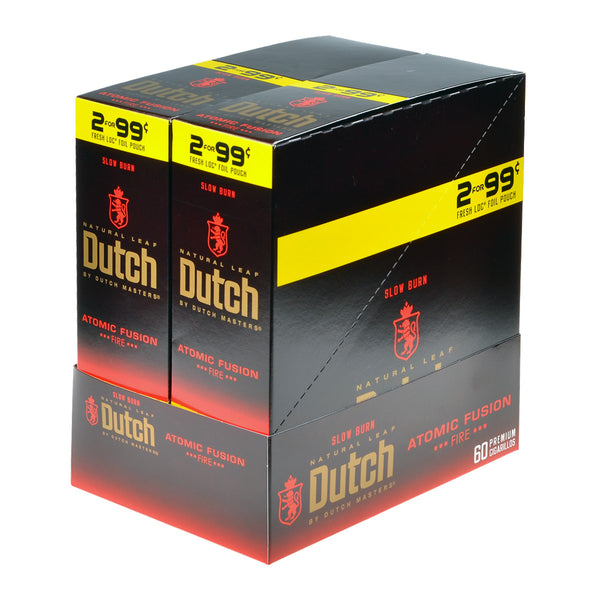 Dutch Masters Foil Fresh Atomic Fusion 99 Cent Cigarillos 30 Packs of 2