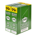 Swisher Sweets Cigarillos 99 Cent Pre Priced 30 Packs of 2 Cigars Green Sweets