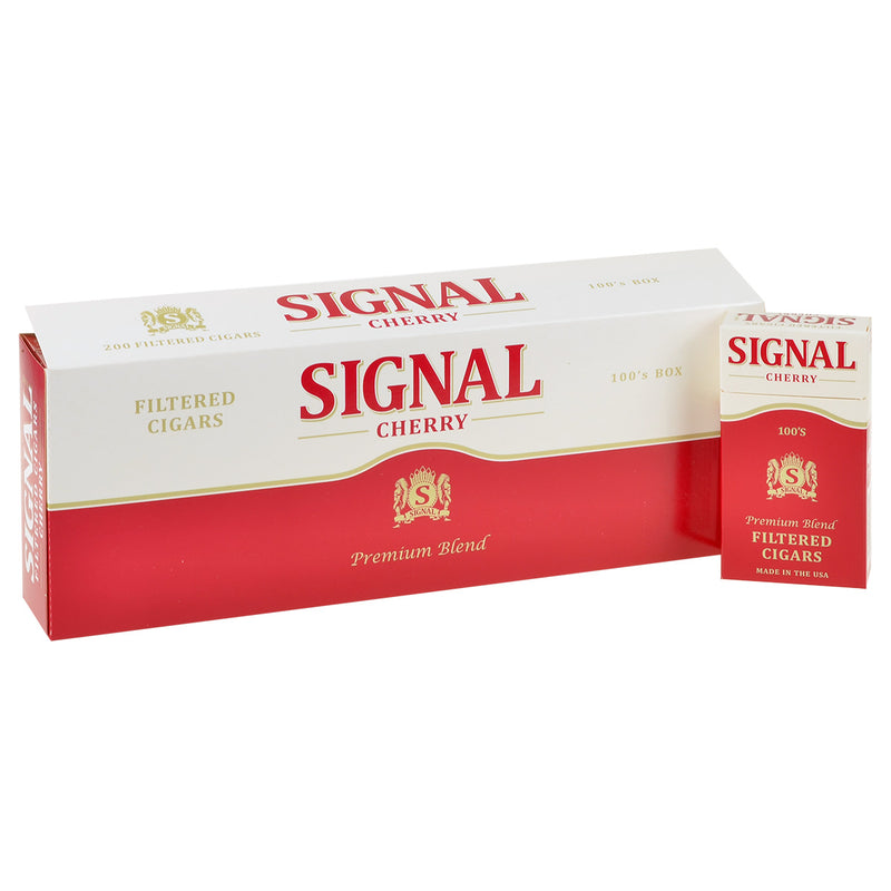 Signal Cherry Filtered Cigars 10 Packs of 20