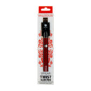 Valgous Spear 450mAh VV Twist Slim Pen Red