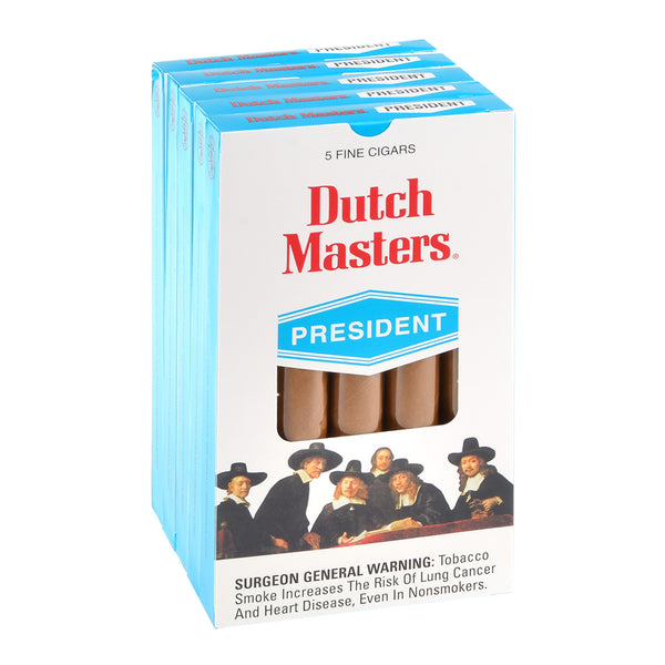 Dutch Masters President Cigars 5 Packs of 5
