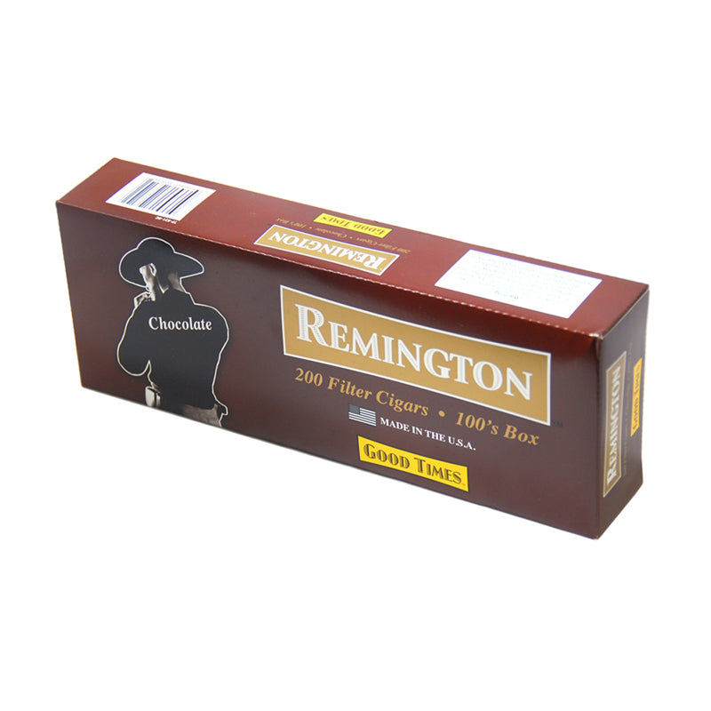 Remington Chocolate Filtered Cigars 10 Packs of 20
