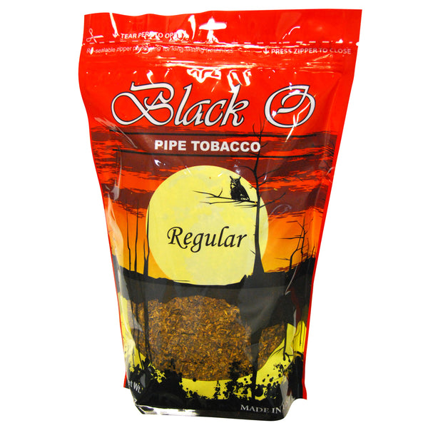 Black O Regular Pipe Tobacco 16 oz. Bag
