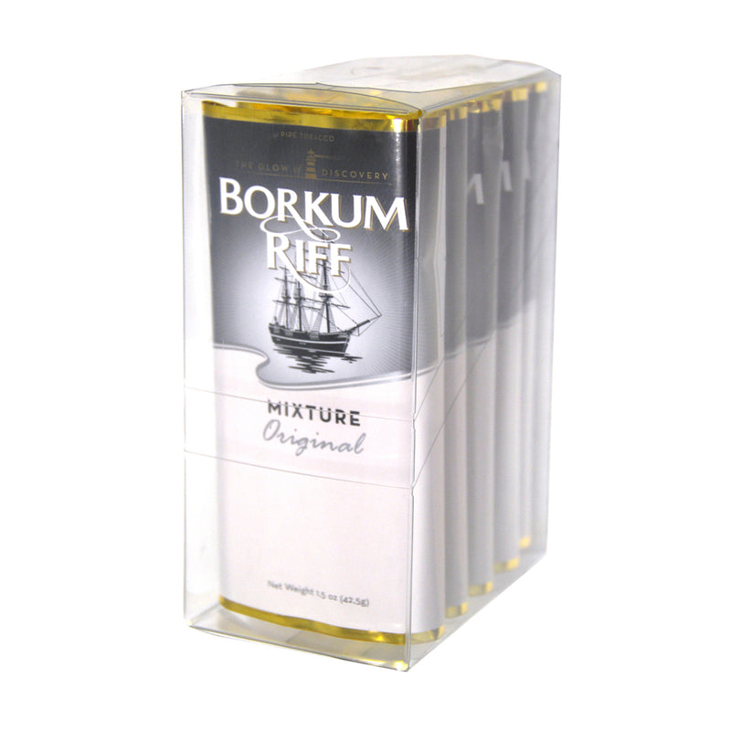 Borkum Riff Original Pipe Tobacco 5 Pockets of 1.5 oz.