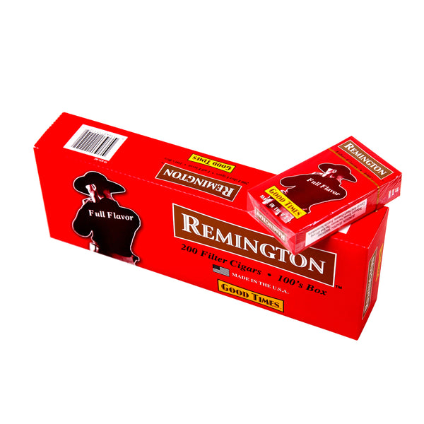 Remington Full Flavor Filtered Cigars 10 Packs of 20