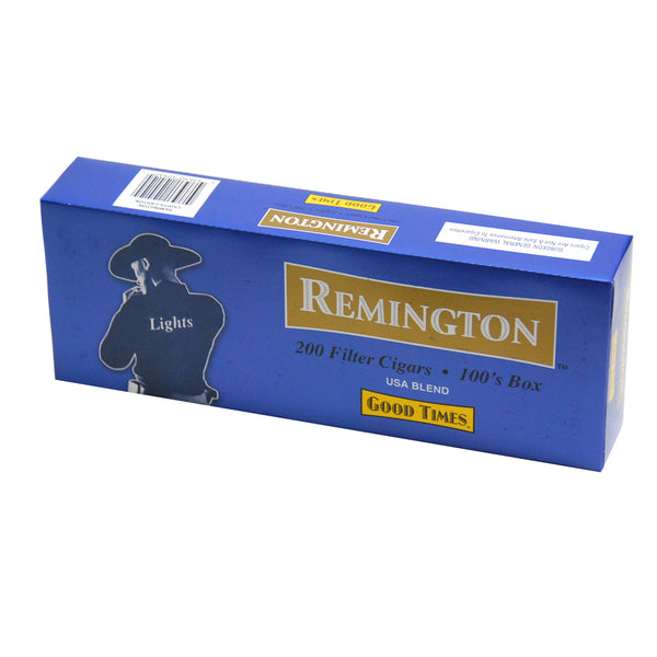 Remington Lights Filtered Cigars 10 Packs of 20