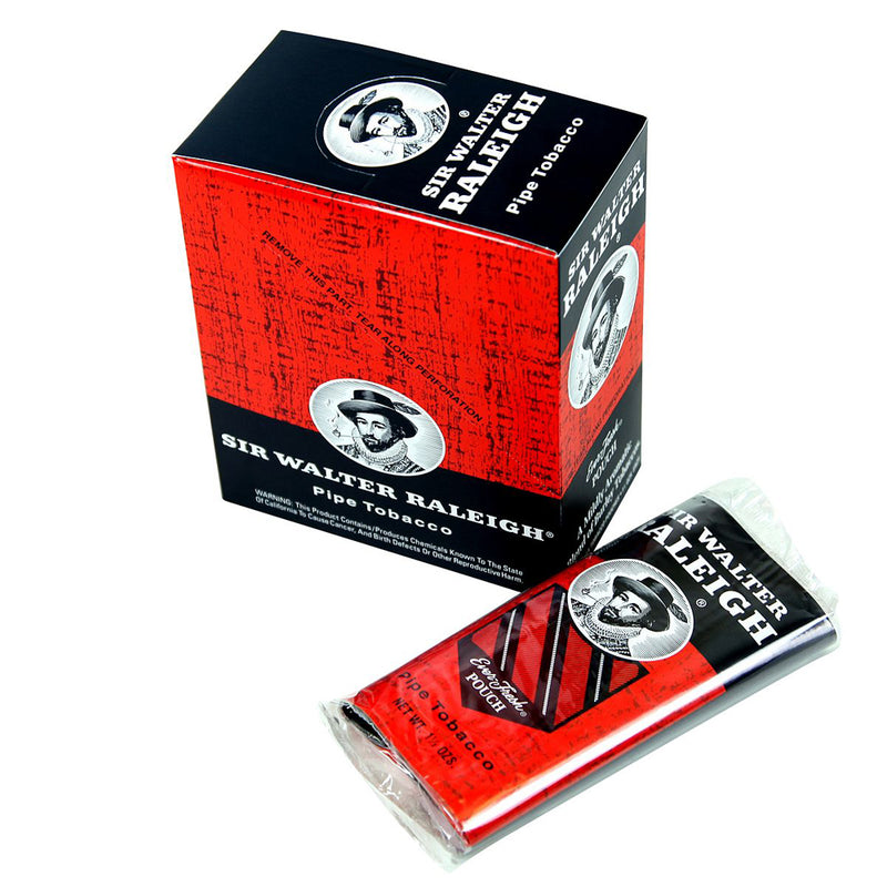 Sir Walter Releigh Pipe Tobacco 6 Pouches of 1.5 oz.