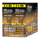 Good Times Sweet Woods 2 for 99¢ 30 Pouches of 2 Honey Berry
